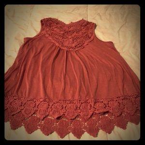 Beautiful light pink blouse